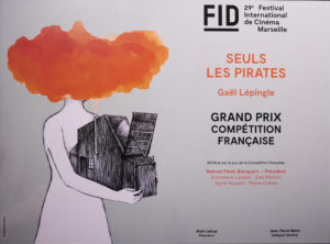 Grand prix de la compétition nationale du FID pour Seuls les pirates